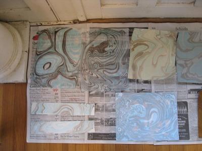 Suminagashi/Japanese Paper Marbling